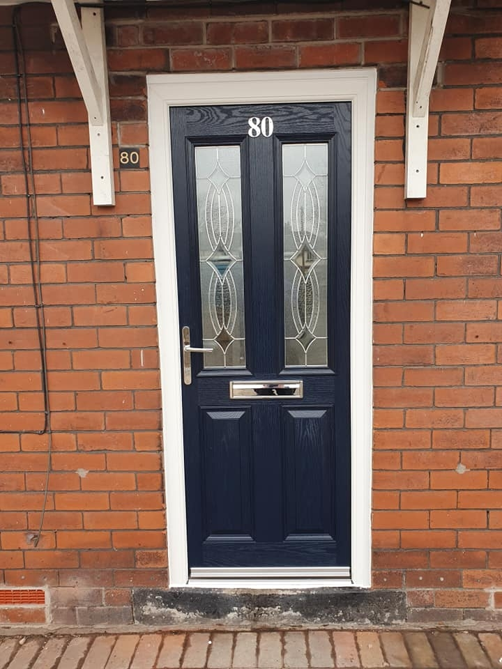 New Composite Door Installed - only took one mornings work. What a great job!
