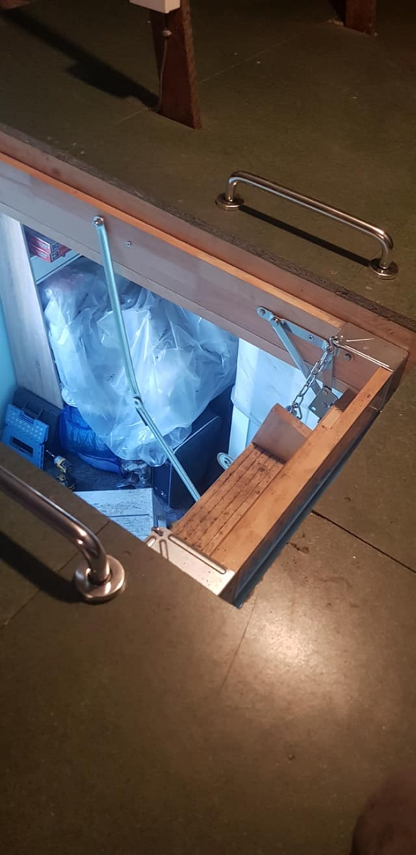 New (bigger) Loft Hatch Installed